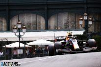Sergio Perez, Red Bull, Monaco, 2021