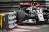"""Giovinazzi """"mentally tired"""" after grabbing first point for Alfa Romeo"""