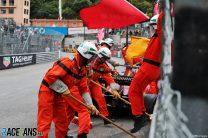 "F1 will consider adopting ""intelligent"" IndyCar rule in wake of Leclerc crash"