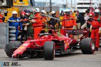 Ferrari's investigation reveals Leclerc's crash did cause race-ending failure