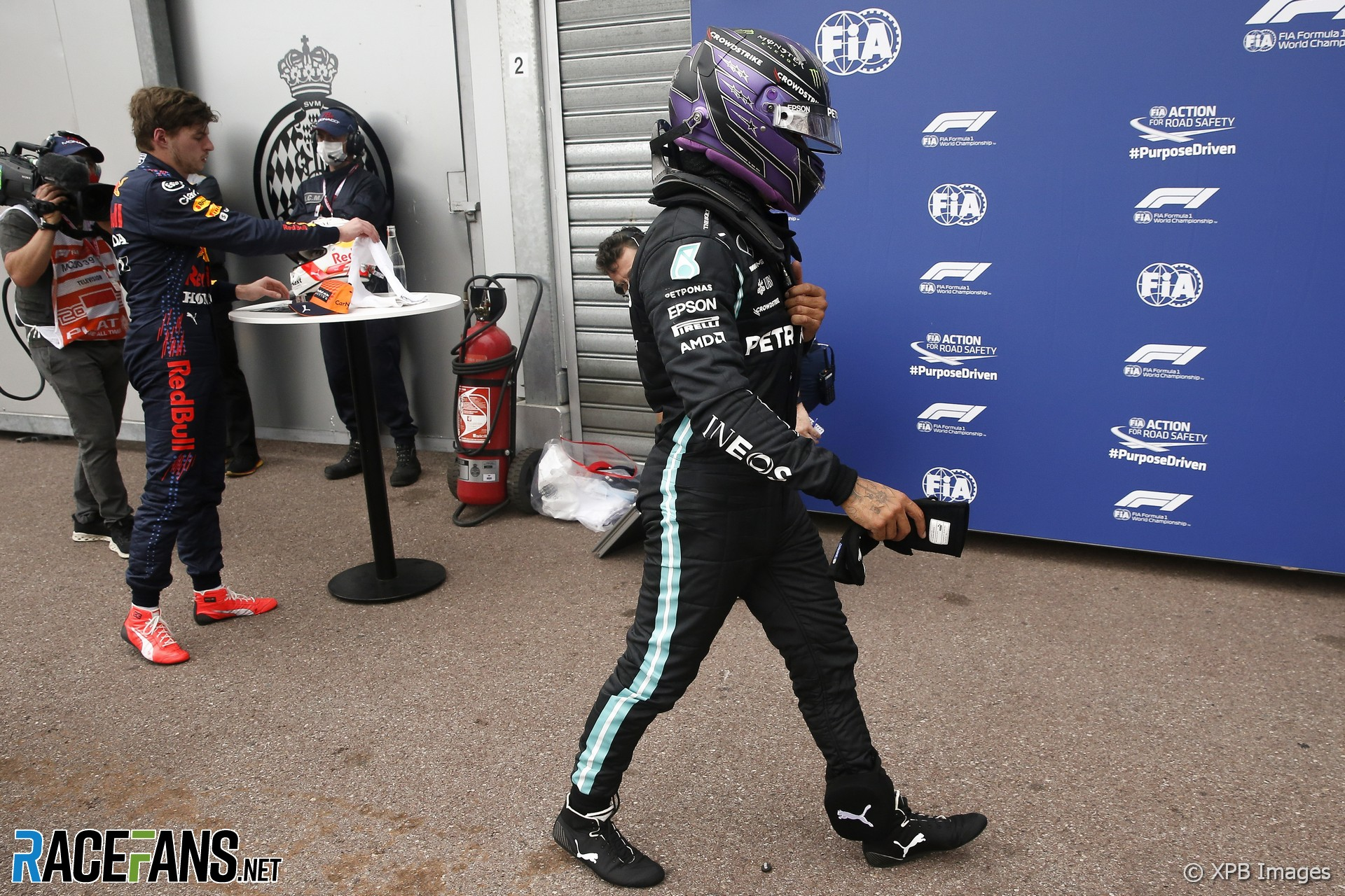 Lewis Hamilton, Mercedes, Monaco, 2021