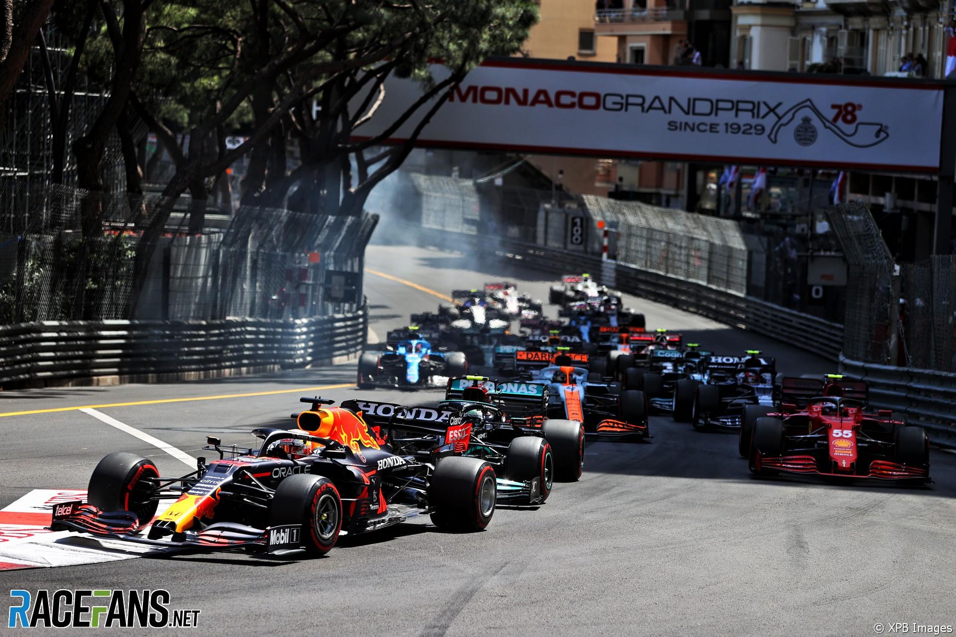 Start, Monaco, 2021