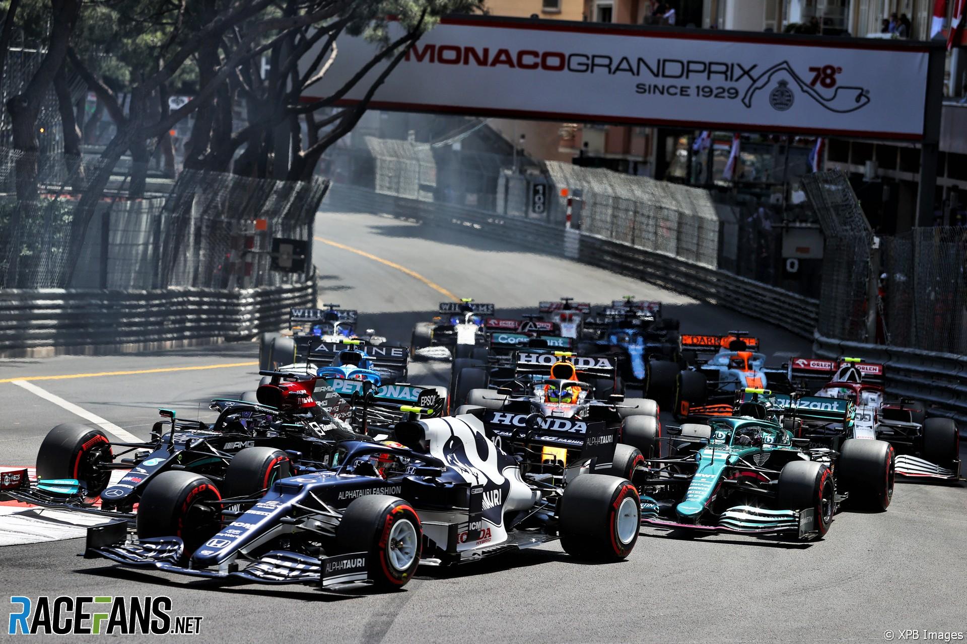 Pierre Gasly, AlphaTauri, Monaco, 2021
