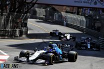 Raikkonen and Latifi go thirsty in Monaco GP after cockpit errors
