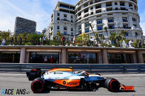 Lando Norris, McLaren, Monaco