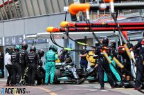 Mercedes explain Bottas' Monaco pit stop failure