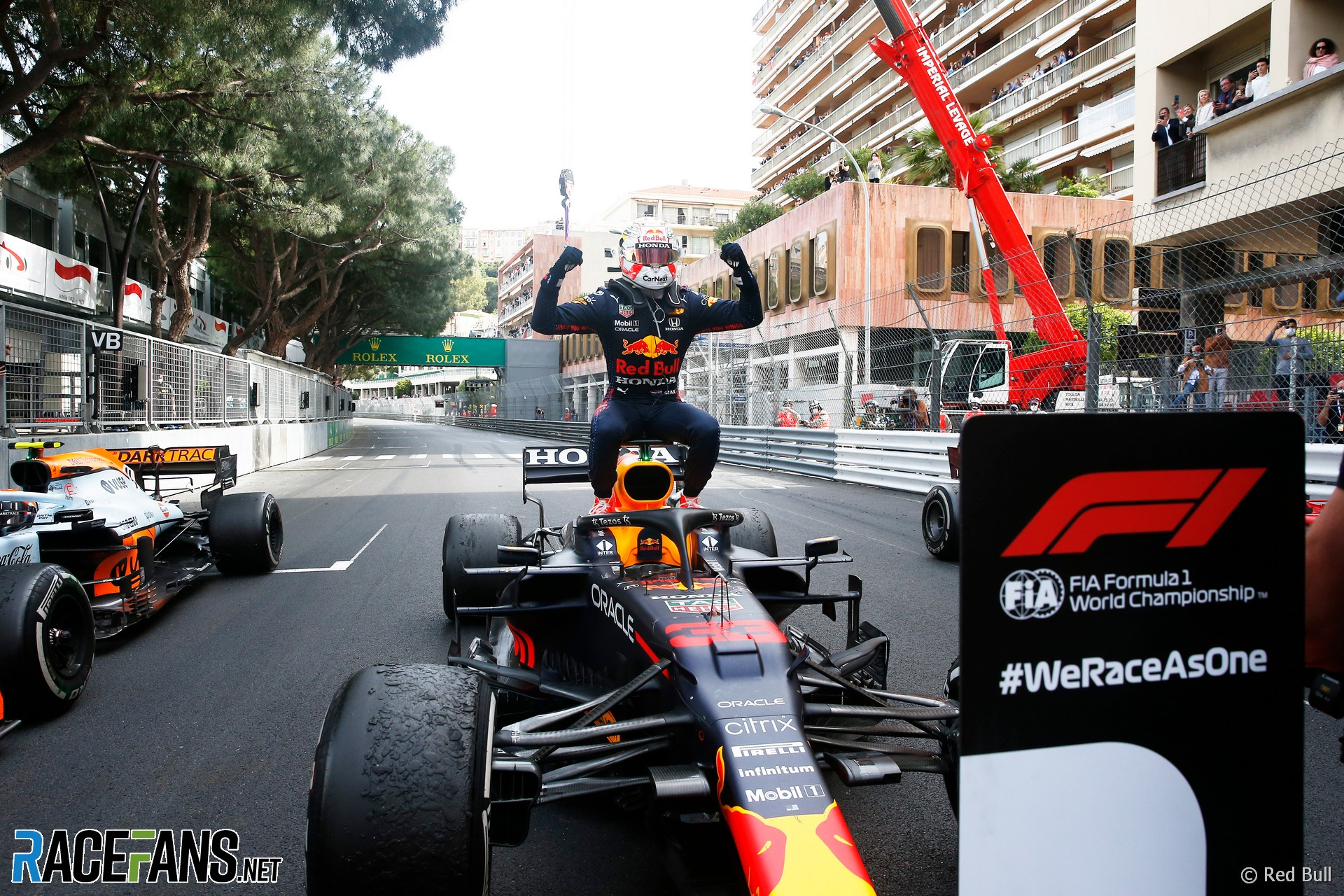 Max Verstappen, Red Bull, Monaco