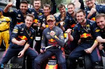 Verstappen leads a championship for the first time since his karting years