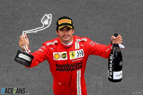 Carlos Sainz, Ferrari, Monaco