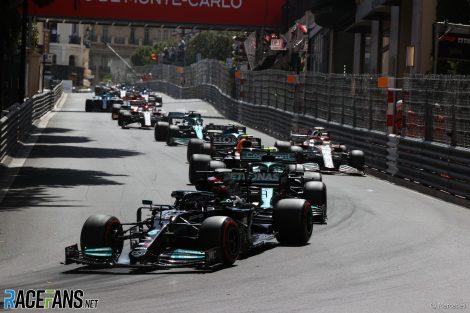 Lewis Hamilton, Mercedes, Monaco