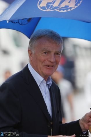 Max Mosley, Monza, 2008