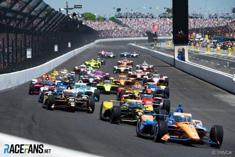 Start, Indianapolis 500, IndyCar, 2021