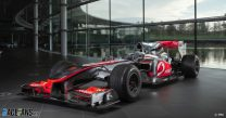Lewis Hamilton's 2010 McLaren MP4-25