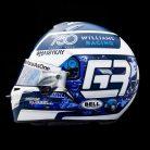 George Russell 2021 Monaco Grand Prix helmet
