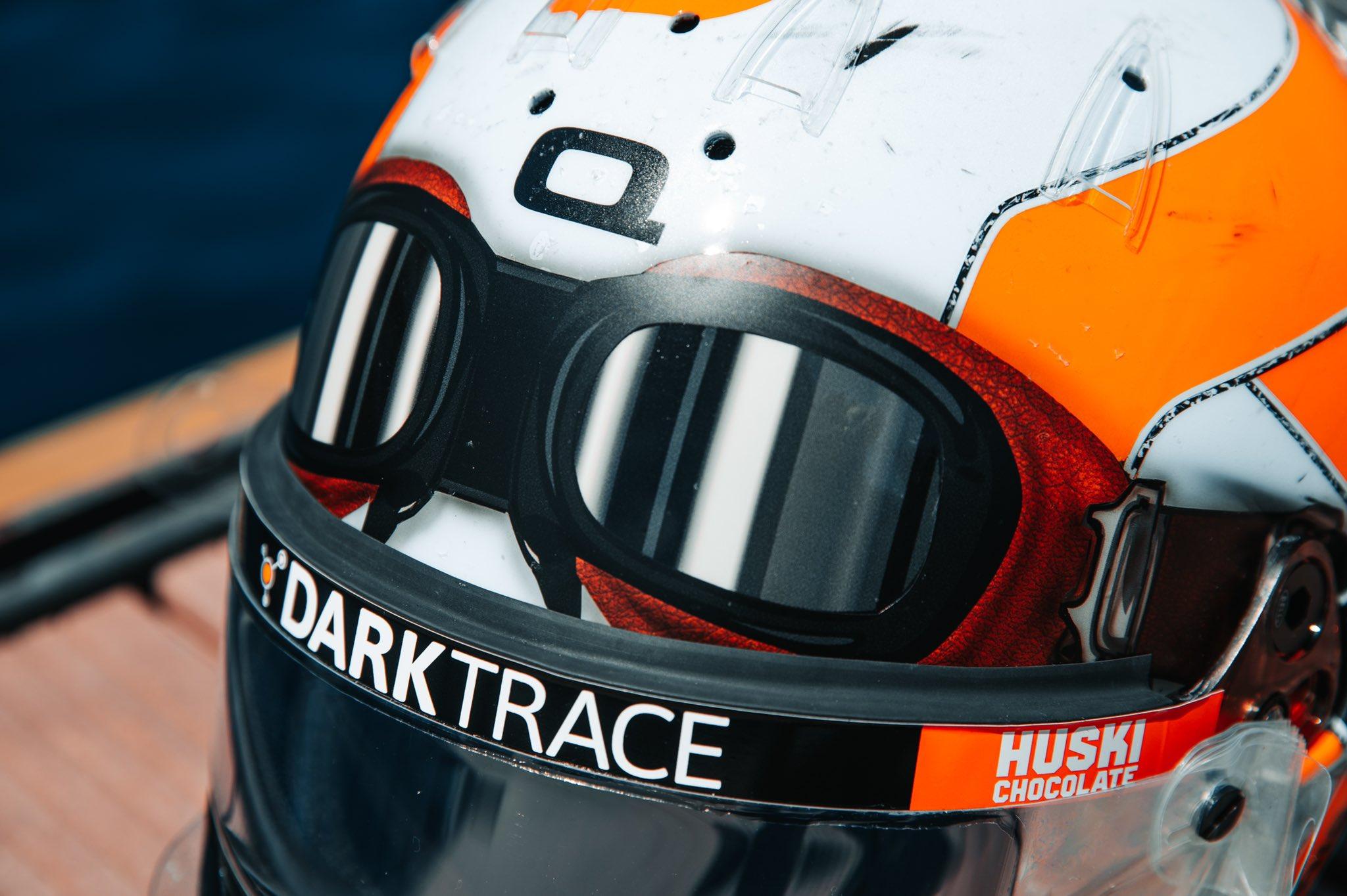 Lando Norris 2021 Monaco Grand Prix helmet