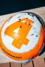 Lando Norris 2021 Monaco Grand Prix helmer