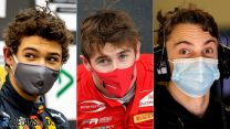 Who are the top F1 juniors bidding for a grand prix debut in 2022?