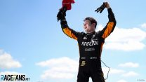 O'Ward denies Newgarden in victory charge from 16th place