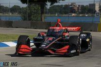 Power explodes at IndyCar race control after ECU failure costs him Detroit win
