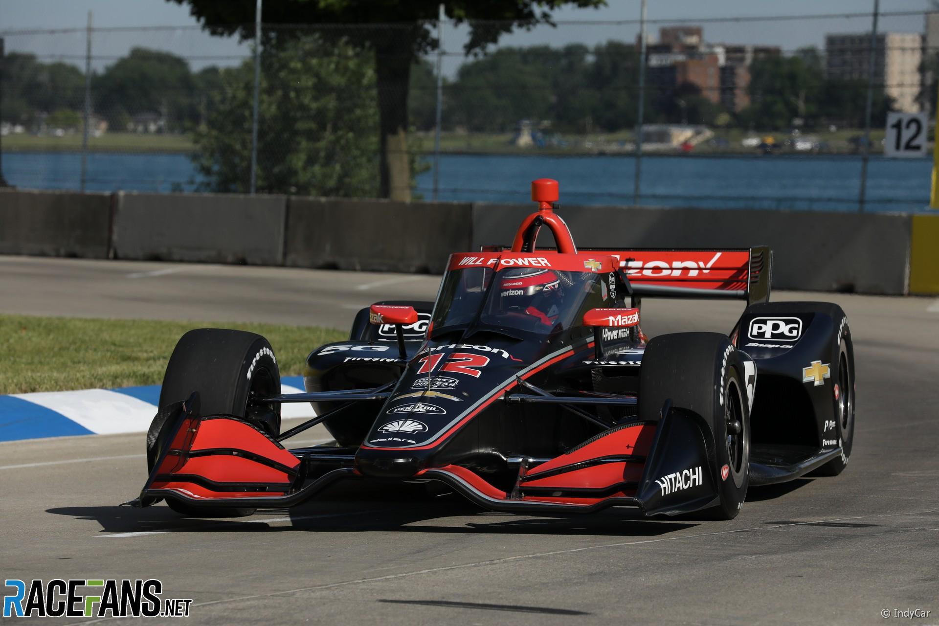 Power Explodes At Indycar Race Control After Ecu Failure Costs Him Detroit Win Racefans