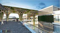 Jeddah City Circuit pit building renderings, 2021