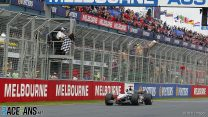 Melbourne, F1, Rennen, DC jubelt….
