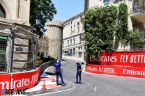 First pictures from the 2021 Azerbaijan Grand Prix weekend