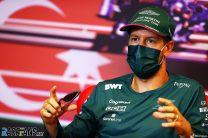 Sebastian Vettel, Aston Martin, Baku City Circuit, 2021