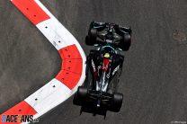 Valtteri Bottas, Mercedes, Baku City Circuit, 2021
