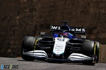 George Russell, Williams, Baku City Circuit, 2021
