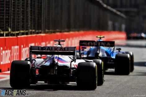 Nikita Mazepin, Haas, Circuit de la ville de Bakou, 2021