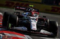 Antonio Giovinazzi, Alfa Romeo, Baku City Circuit, 2021