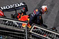 Gasly tops final practice after Verstappen crashes