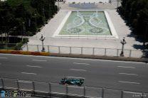 Lance Stroll, Aston Martin, Baku City Circuit, 2021