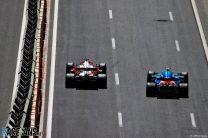 Kimi Raikkonen, Esteban Ocon, Baku City Circuit, 2021