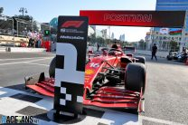 Leclerc takes pole again as five drivers crash in qualifying