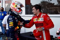 """Verstappen frustrated to miss pole as crashes disrupt """"stupid"""" qualifying session"""