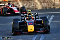 Vips takes first F2 win in chaotic second Baku sprint race
