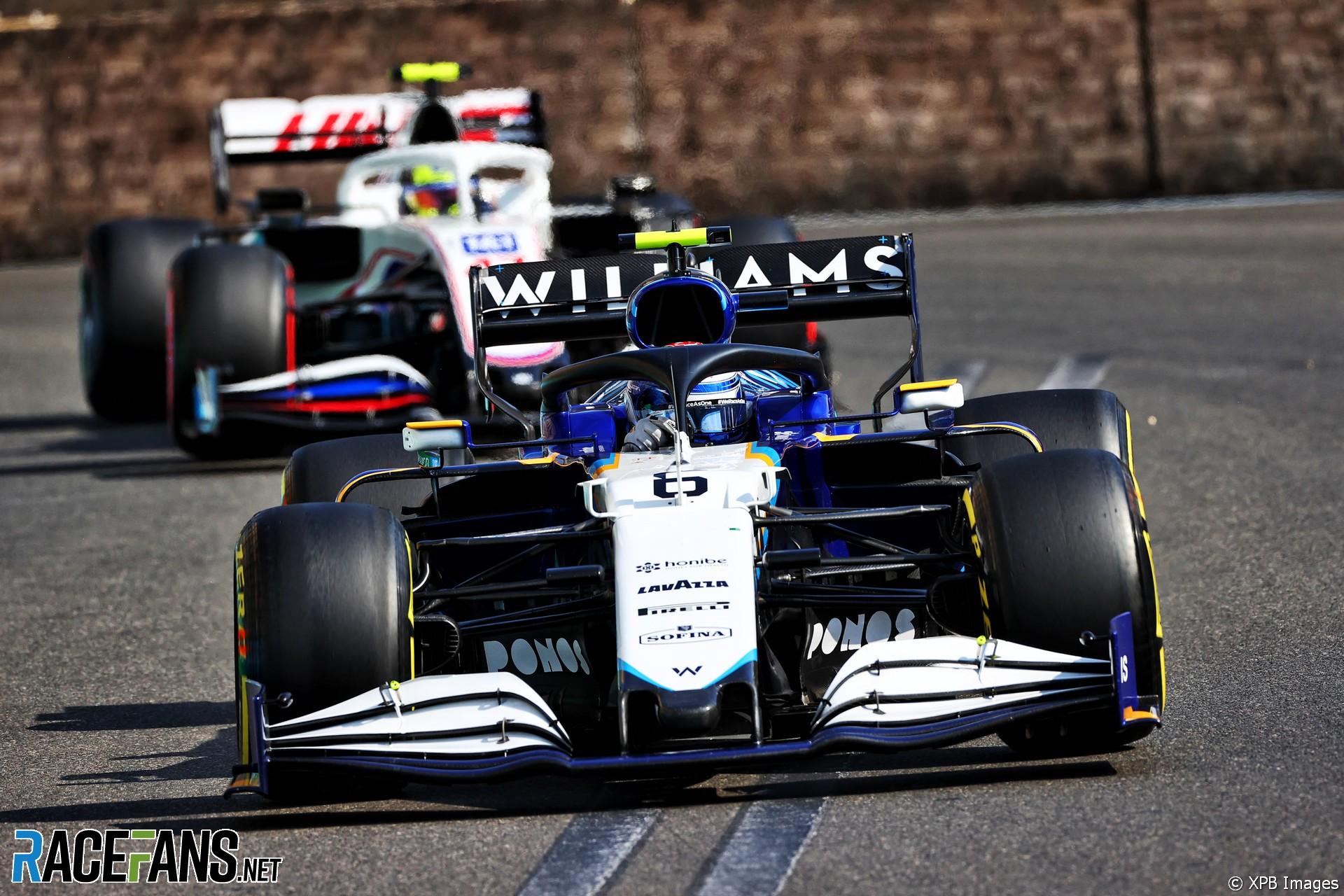 Nicholas Latifi, Williams, Baku City Circuit, 2021