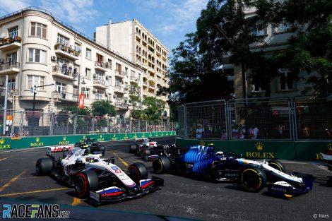 Mick Schumacher, Haas, Circuit de la ville de Bakou, 2021