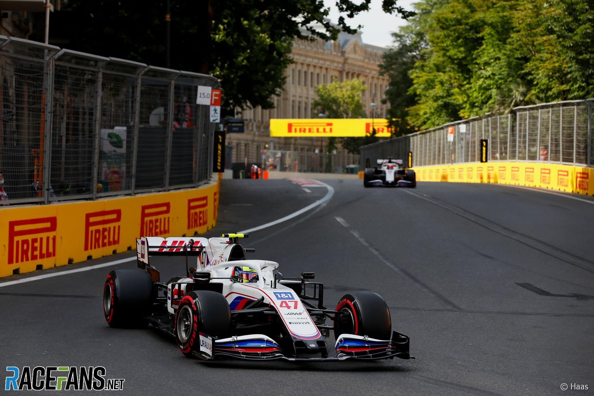 Haas, Baku City Circuit, 2021
