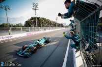 """Aston Martin's first podium a boost for Vettel after """"very rough start to the season"""""""