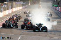 Hamilton reveals he hit button by mistake in race-losing restart error