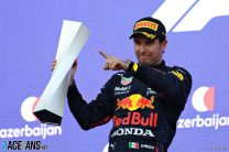 Perez credits Albon's contribution to his first win for Red Bull