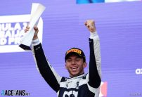 Gasly spurred on by error-free runs in Monaco and Baku ahead of home race