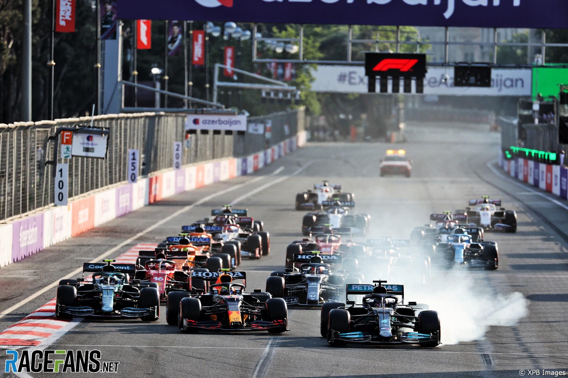 Restart, Baku City Circuit, 2021