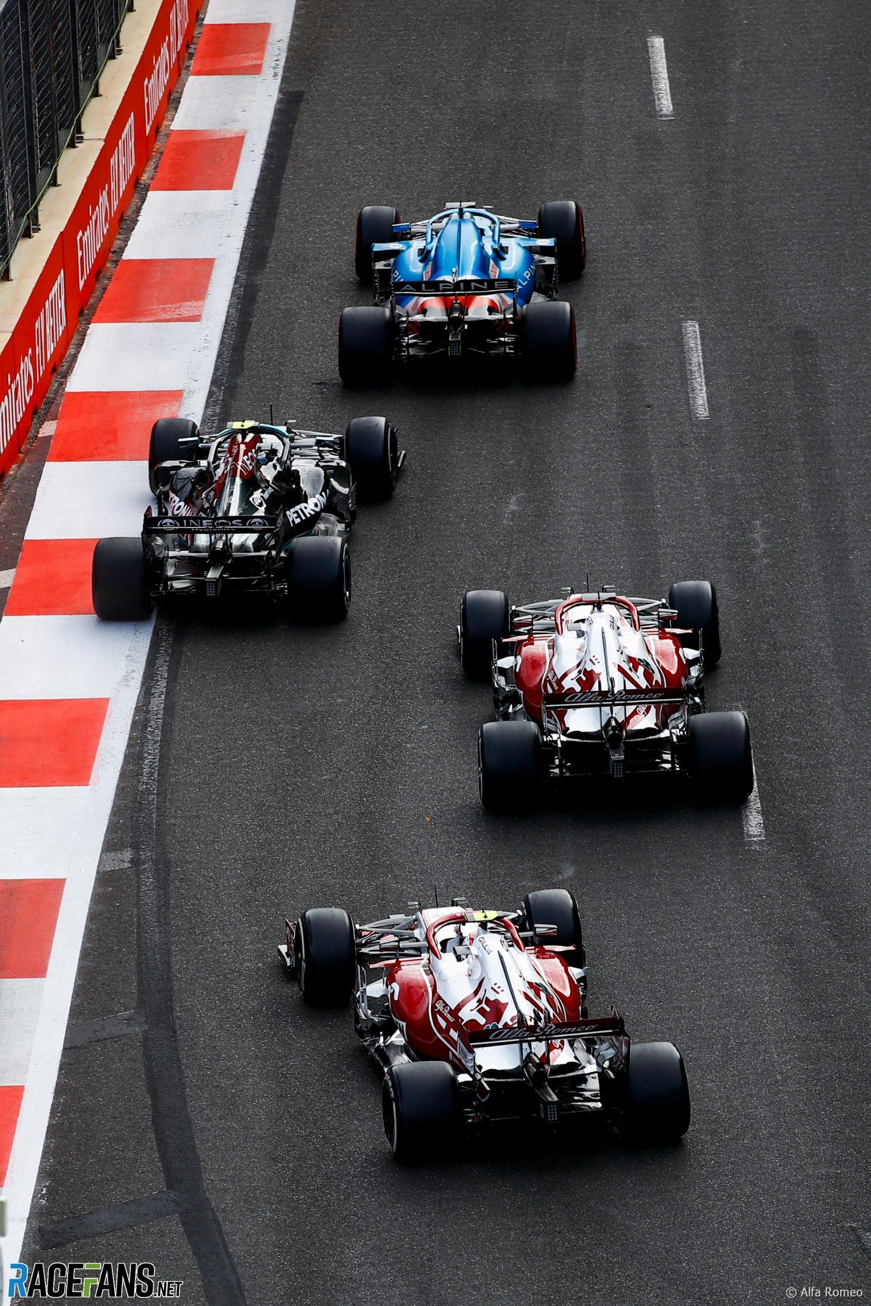 Alfa Romeo, Baku City Circuit, 2021