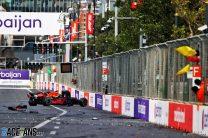 """Verstappen had no warning of tyre problem before """"dangerous"""" crash"""
