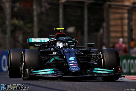 Valtteri Bottas, Mercedes, Circuit de la ville de Bakou, 2021