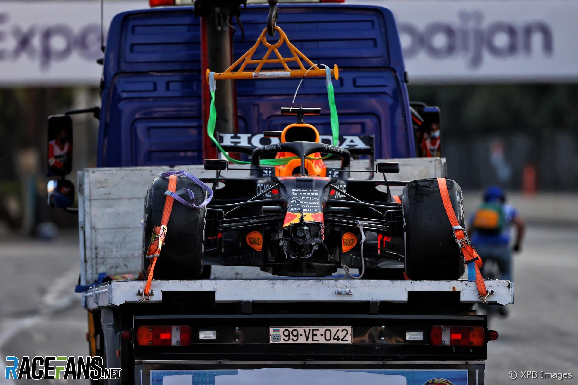 Max Verstappen, Red Bull, Baku City Circuit, 2021
